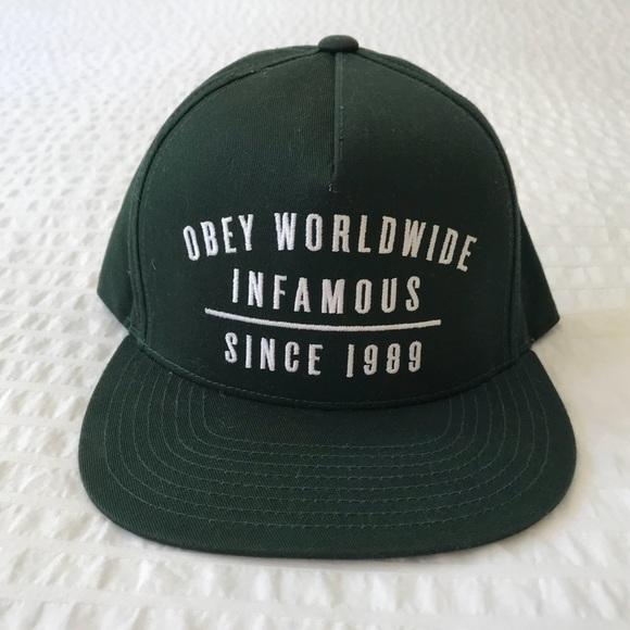 164726ae0ff Obey Hat. M 5b3b17f204e33dd18ddd70e6